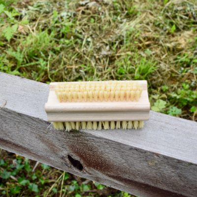 wooden hand & nail brush