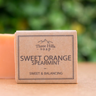 Handmade Natural Soap Sweet Orange and Spearmint