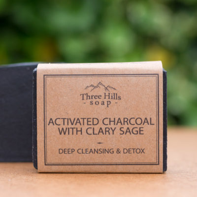 Natural Body Soap Activated Charcoal