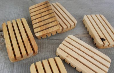 Cypress wooden Soap Tray