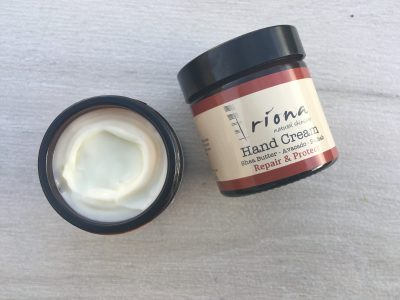 Hand Cream Irish Natural Riona Skincare