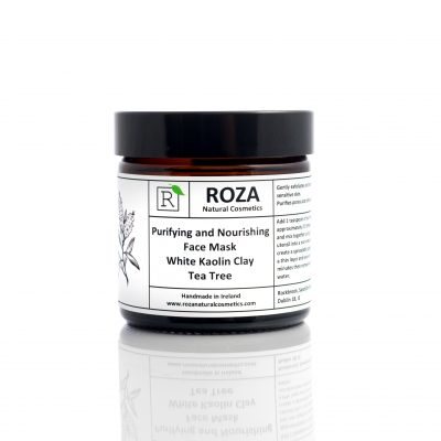 Kaolin Clay and Tea Tree Face Mask