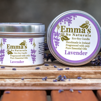 Lavender Eco Soy Candle Tin 100ml
