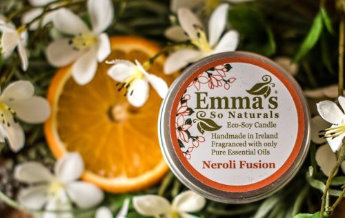 Eco Soy Candle Neroli Fusion 100ml Tin