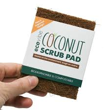 EcoVibe Coconut Scrub Pad- Single