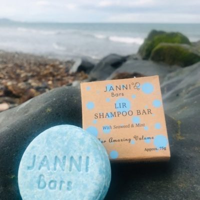 Janni Lir Shampoo Bar for Volume Seaweed Shampoo